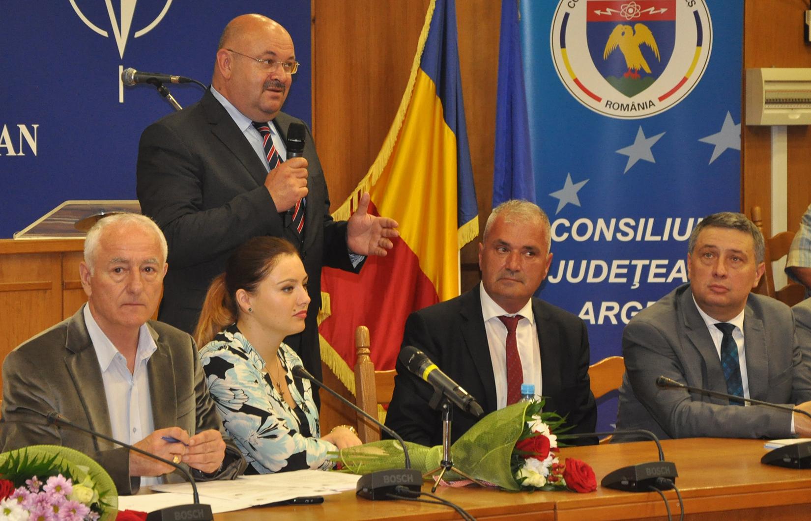 Ion Mânzână - vicepreședinte CJ Argeș
