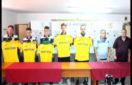 De la stânga la dreapta: Daniel Celea, Alexandru Popescu, Szabolcs Kilyen, Raul Drugă, Valentin Coșereanu, Iordan Eftimie, Constantin Stancu